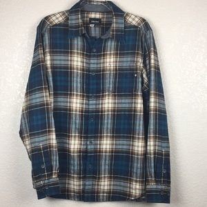 Marmot For Life Blue Flannel L